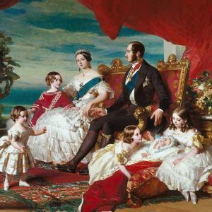 ヴィクトリア女王の子供は4男5女