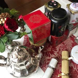 フォートナム&メイソン「クリスマス・ギフトキューブ」のクリスマスティー
