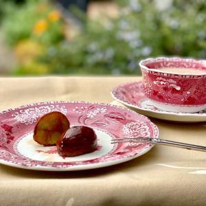 マロンなティータイム 栗の渋皮煮と「ティーハウス栗の木」の紅茶