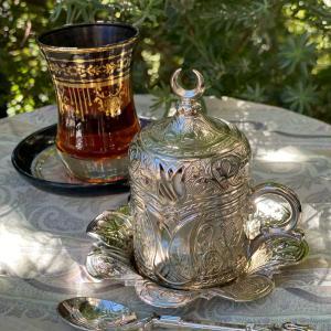トルコのお茶時間 チャイクル バクラバ チャイバルダック