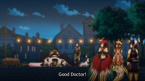 【海外の反応】モンスター娘のお医者さん 第12話(終) 『グレンの治療は大成功だな。みんながデレタイプに変わってしまった。』