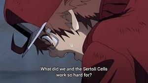【海外の反応】はたらく細胞BLACK 第3話 『赤血球の働きがよく分かる。これからは彼らのことをよく考えるようにしようと思う。』
