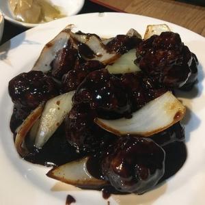 高記黒酢豚