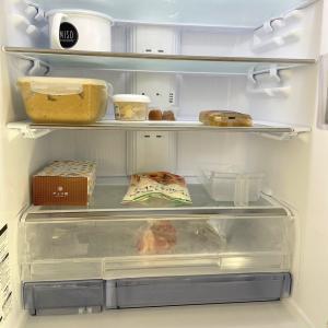 【ラク家事】我が家の冷蔵庫はやる気ない!美収納とは程遠い