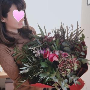 「世界の花屋」さんのブーケ♬結婚記念日に送った花束が素晴らしすぎた!