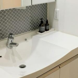 GW中の家事分担と洗面台にタイルを貼った動画について!