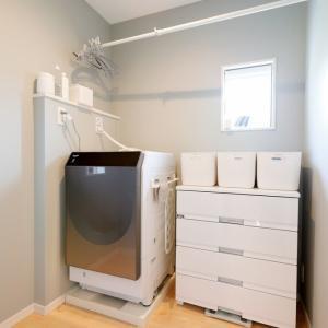 【脱衣所の収納】毎日使う衣類の収納見直しました
