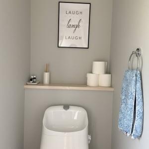 百均雑貨を使ってトイレ収納の見直し♬