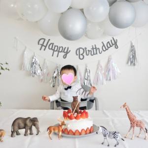 孫の初めての誕生日にスマッシュケーキ!1歳になったお祝いは?