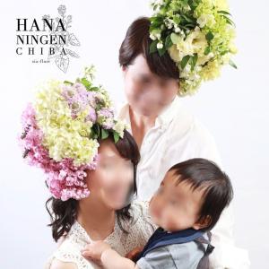 【写真公開】花人間モデルデビューしました!HANANINGEN®