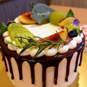 今月はシャインマスカットケーキ☆ショートケーキ屋 KINU@福島県郡山市
