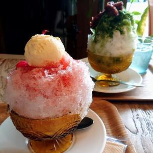 暑い日は、かき氷だね☆焼き菓子工房 kabako@栃木県大田原市