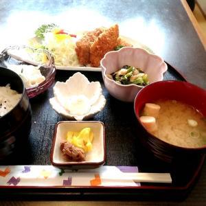 ランチが充実したお好み焼き・定食屋さんの日替わり定食(アジフライ) 和歌山県田辺市東山 まりや