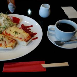 チーズトースト・ウインナー・サラダのCモーニング 和歌山県田辺市中万呂 ライフ