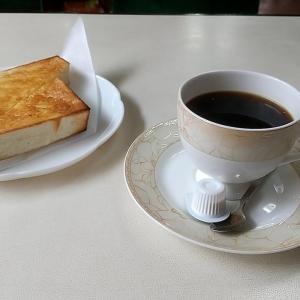 田辺市役所の裏手にある喫茶店のトーストが無料で付くトーストモーニング 和歌山県田辺市中屋敷町 アカシア