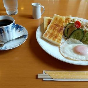 紀陽銀行田辺支店敷地隣にある喫茶店のモーニング 和歌山県田辺市栄町 街かど