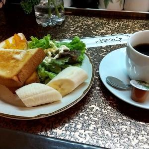 喫茶店のホットコーヒートーストセット 和歌山県田辺市湊 喫茶モア
