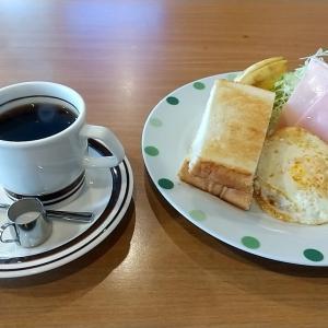 田辺市の喫茶店ルートのモーニングサービス 和歌山県田辺市上の山 ルート