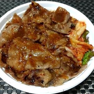 秘伝のタレで柔らかカルビ肉がかなりの美味しさのカルビ丼 神戸市中央区琴ノ緒町4丁目 焼肉丼十番