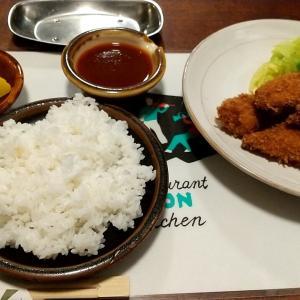 神戸の洋食の名店の絶品とんかつ定食 神戸市中央区北長狭通2丁目 欧風料理もん