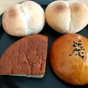 木曜金曜しか営業していない幻のケーキとパンのお店の国産小麦使用のバナナケーキと国産小麦・天然酵母の白神こだま酵母使用のアンパンとプチパン 和歌山市西庄 ケーキ ジュン