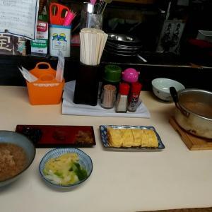 朝から茶がゆの満腹セット 和歌山市黒田 ねぼけ食堂