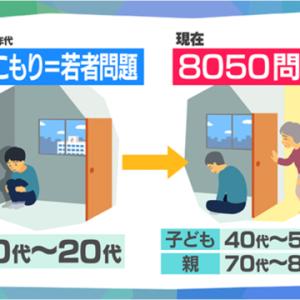 広島の都市問題 広島市の『8050問題』