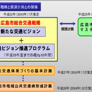 広島の都市交通 広島市の公共交通計画を読み解く その1