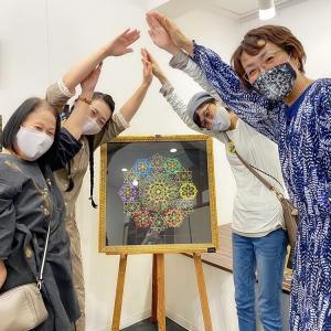 """""""松石恭子さんの原画展へ"""""""