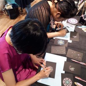 曼荼羅アート体験実施法講座