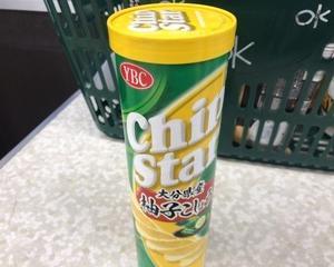 10月10日昼食(ヤマザキビスケット YBC チップスターL大分県産柚子こしょう味 115g)