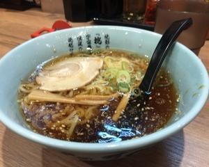 10月12日昼食(伝説のすた丼屋 ミニ醤油ラーメン)