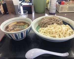 10月20日昼食(ファミリー食堂 山田うどん食堂 肉汁うどん・そば)