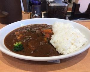 10月13日夕食(マイカリー食堂 季節の野菜カレー(欧風ソース))