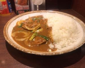 11月10日夕食(カレーハウスCoCo壱番屋 レバニラ煮込みカレー)