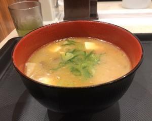 12月11日夕朝食(松屋 豚汁)