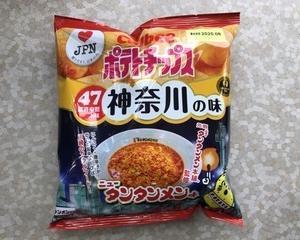 2月20日夕食(カルビー ポテトチップス ニュータンタンメン味)