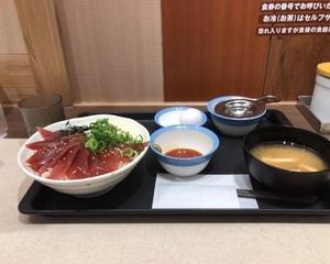 松屋 まぐろ丼『大魚12枚盛』