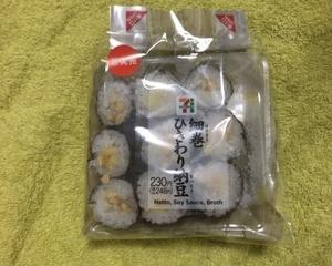 セブンイレブン 細巻 ひきわり納豆