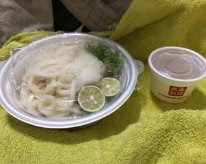 丸亀製麺 氷うどん(すだちおろし冷かけ)