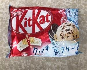 ネスレ日本 キットカット ミニ 凍らせておいしい クッキー&クリーム 13枚