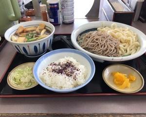 ファミリー食堂山田うどん食堂 たっぷり秋野菜の鶏汁うどん・そば