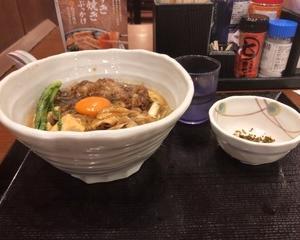 丸亀製麺 神戸牛すき焼きうどん