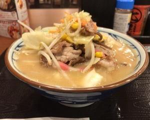 丸亀製麺 豚ちゃんぽんうどん