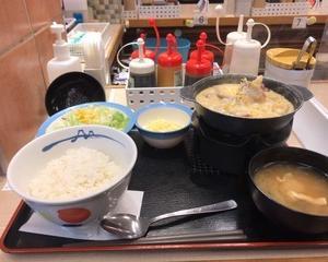 松屋 シュクメルリ鍋定食・チーズ増量