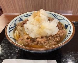 【夏の一番人気】丸亀製麺 鬼おろし肉ぶっかけ【新発売】
