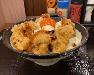 【季節限定】丸亀製麺 鶏天てりマヨぶっかけ