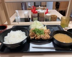 【新発売】松のや 本格唐揚げのやみつき油淋鶏定食