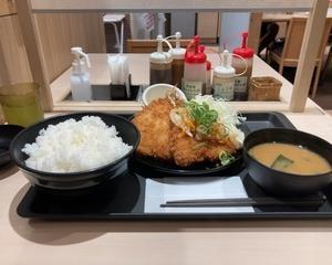 【新発売】松のや エスカベッシュ風アジフライ定食【~松のや世界紀行~ 第1弾はスペイン料理】