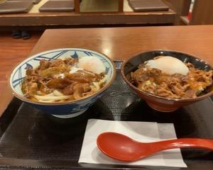 【店舗限定】丸亀製麺 豚たまぶっかけ(冷)・豚たま丼
